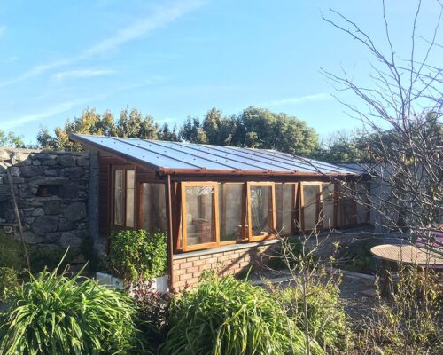 A bespoke greenhouse commission